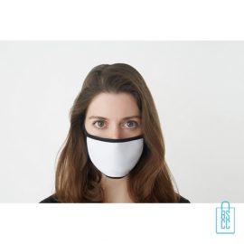 Mondkapje herbruikbaar polyester S-M bedrukken onbedrukt, gezichtsmaskers goedkoop