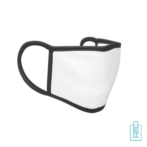 Mondkapje herbruikbaar polyester S-M bedrukken wasbaar, gezichtsmaskers goedkoop