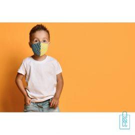 Mondkapje kinderen op maat bedrukken promotie, mondkapjes goedkoop