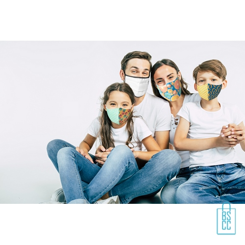 Mondkapje kinderen op maat bedrukken samen, mondkapjes goedkoop