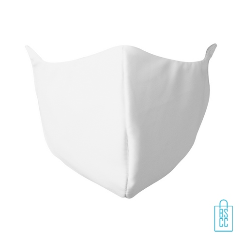Mondkapje personaliseren wit onbedrukt bestellen, mondkapjes goedkoop