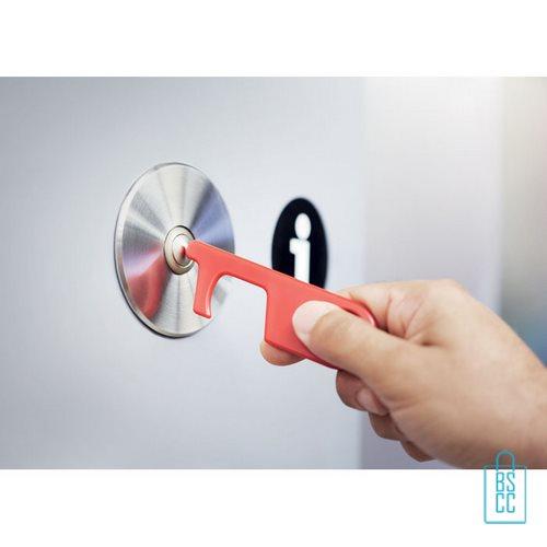 No touch ABS-sleutelhanger bedrukken, desinfectie artikelen goedkoop