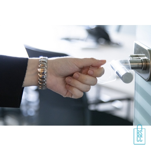 No touch sleutel hygienisch transparant deurklink, corona bescherming artikelen