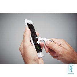 Sleutelhanger multi hygiëne bedrukken smartphone gebruiken, corona bescherming