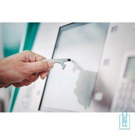 Sleutelhanger multi hygiëne bedrukken touchscreens contactloos gebruiken, corona bescherming