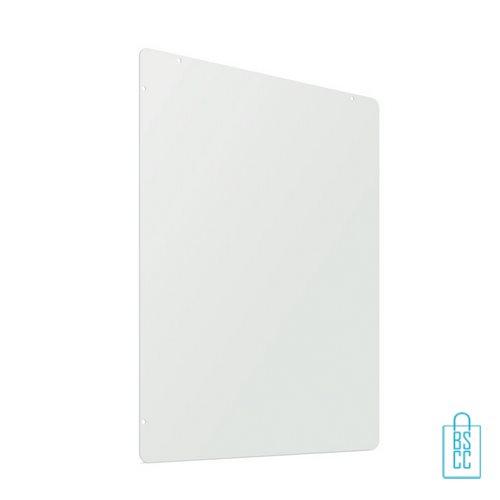 Spatscherm 94x74 met ophangmateriaal horizontaal of vertikaal bevestigen, winkel anti-spat scherm goedkoop
