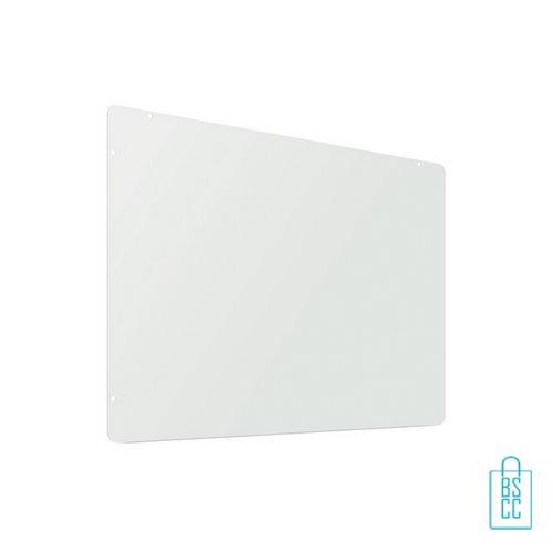 Spatscherm 94x74 met ophangmateriaal te bedrukken met logo, corona relatiegeschenken, winkel anti-spat scherm goedkoop