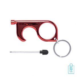 Touch screen hygiëne sleutel bedrukken multifunctioneel, corona preventie artikelen