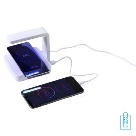 UV-sterilisator bedrukken ziektekiemen bestrijden, corona relatiegeschenken