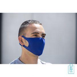 Wasbaar softshell gezichtsmasker bedrukken vb, mondkapjes bedrukken